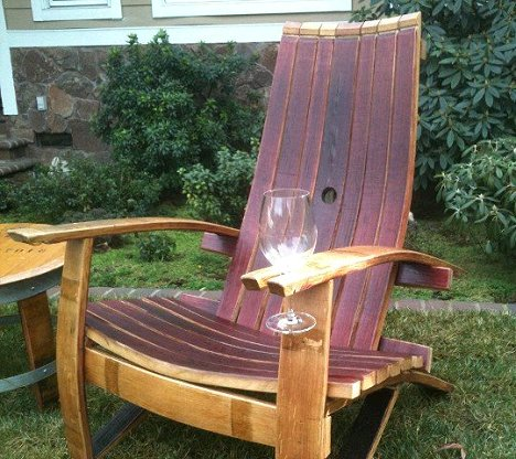 Dreamy Adirondack Wine Chair